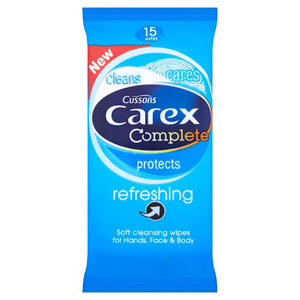 Carex Refreshing Cleansing Wipes 15 Wipes