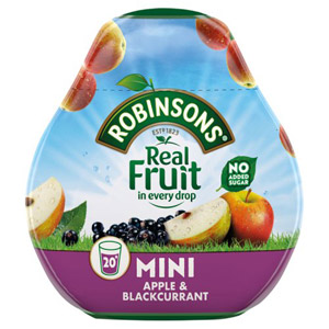 Robinsons Squash'd Apple & Blackcurrant