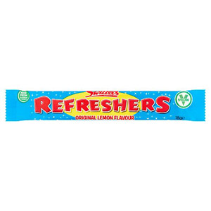 Swizzels Matlow Giant Refresher Chew Bar Original Lemon 10g