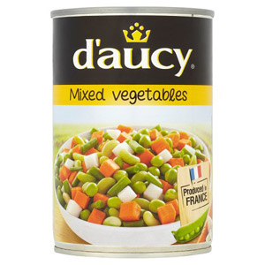 D'aucy French Mixed Vegetables