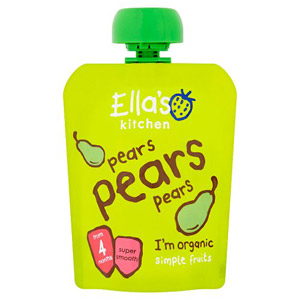 Ellas Kitchen 4 Months Pears Pears Pears