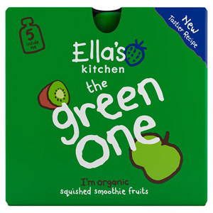 Ellas Kitchen 4 Months The Green One 5 Pack