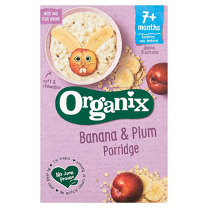 Organix 7 Month Banana & Plum Porridge
