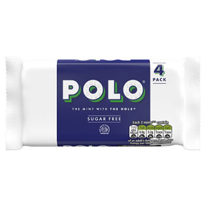 Polo Sugar Free Mints 4 Pack