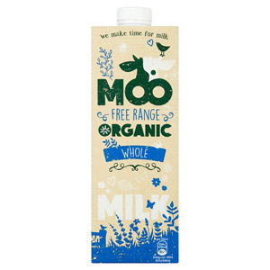 Moo Organic Longlife Whole Milk