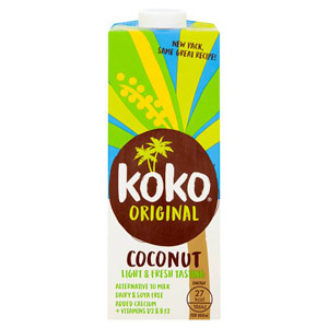 Koko Dairy Free Coconut Longlife Milk Alternative