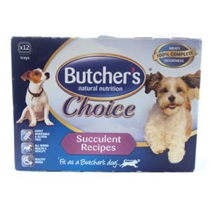 Butchers Choice Succulent Meat Variety 12 Pack 1800g