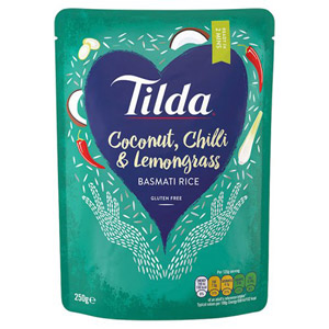 Tilda Coconut Chilli & Lemongrass Basmati Rice