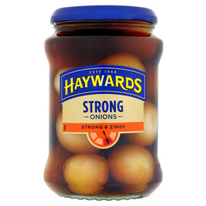 how to make strong pickled onions