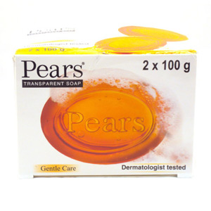 Pears Transparent Soap 2 Pack 200g