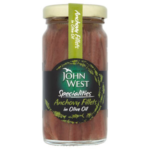 John West Anchovies In Olive Oil Large Size