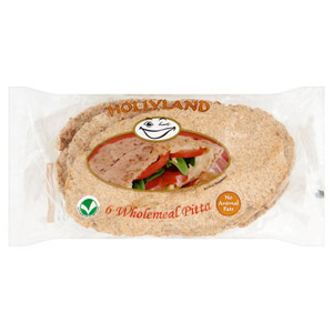 Hollyland Wholemeal Pitta 6 Pack