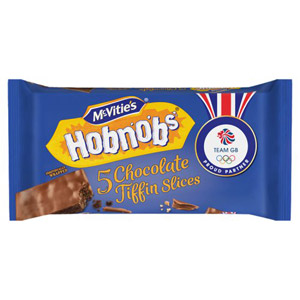 McVities Hobnob Slices 6 Pack