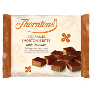 Thorntons Shortcake Bites 10 Pack