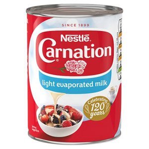Carnation Light Evaporated Milk
