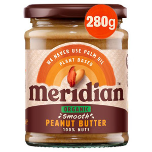Meridian Organic Peanut Butter Smooth