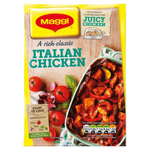 Maggi So Juicy Italian Chicken