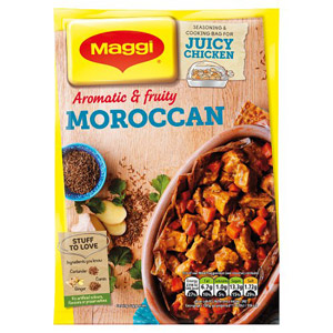 Maggi So Juicy Moroccan Chicken