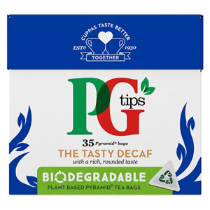 PG Tips Pyramid The Tasty Decaffeinated Tea Bags 35s