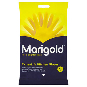 Marigold Extra Life Gloves Kitchen Small