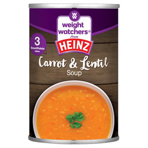 Weight Watchers Soup Carrot & Lentil