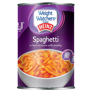 Weight Watchers Spaghetti In Tomato Sauce Large Size