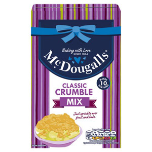 McDougalls Crumble Topping