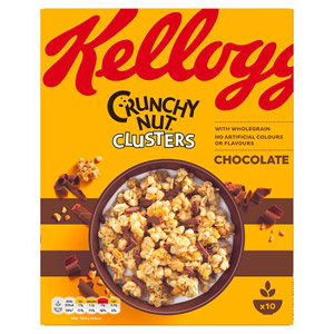 Kelloggs Nut Clusters Chocolate Curls