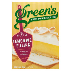 Greens Lemon Pie Filling 2 x 70g