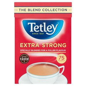 Tetley Extra Strong Tea 75