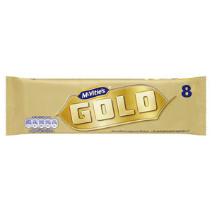 McVities Gold Bars 8 Pack