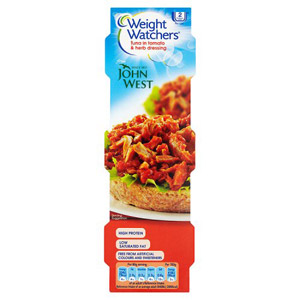 John West Weight Watchers Tomato & Herb Tuna 3x80g