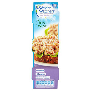 John West Weight Watchers Coronation Tuna 3x80g