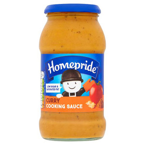 Homepride Curry Cook In Sauce Jar