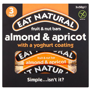 Eat Natural Yoghurt Almond and Apricot 3 Pack