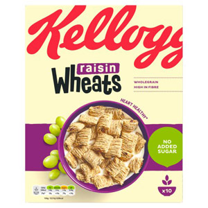 Kelloggs Raisin Wheats