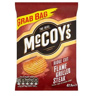 McCoys Flame Grilled Steak x 30