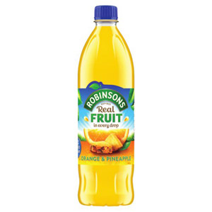 Robinsons Orange & Pineapple No Added Sugar Squash