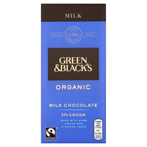 Green and Blacks Organic Milk Chocolate