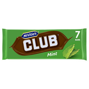 Jacobs Club Biscuits Mint 8 Pack