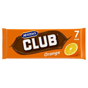 Jacobs Club Biscuits Orange 8 Pack