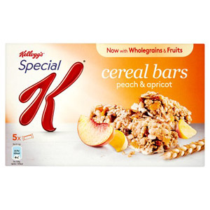 Kelloggs Special K Bar Peach and Apricot 5 Pack