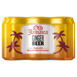 Old Jamaica Ginger Beer 6 x 330ml Cans