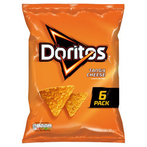 Doritos Tangy Cheese 6 Pack
