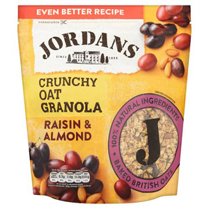 Jordans Crunchy Cereal Raisin and Almond