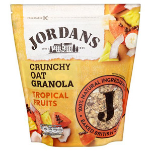 Jordans Crunchy Cereal Tropical Fruit