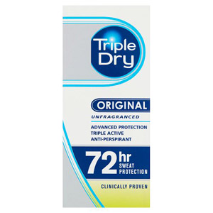 Triple Dry Antiperspirant Deodorant Roll On