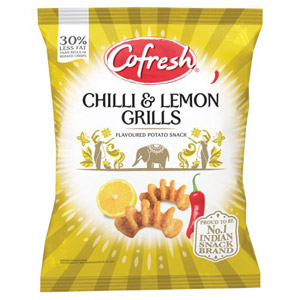 Cofresh Chilli and Lemon Potato Grills