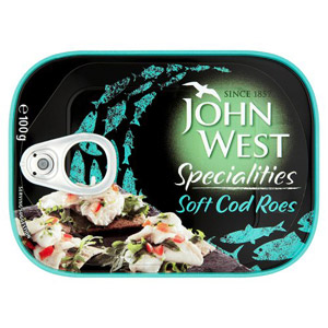John West Soft Cod Roe
