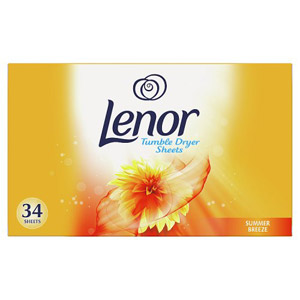Lenor Summer Breeze Tumble Dryer Sheets